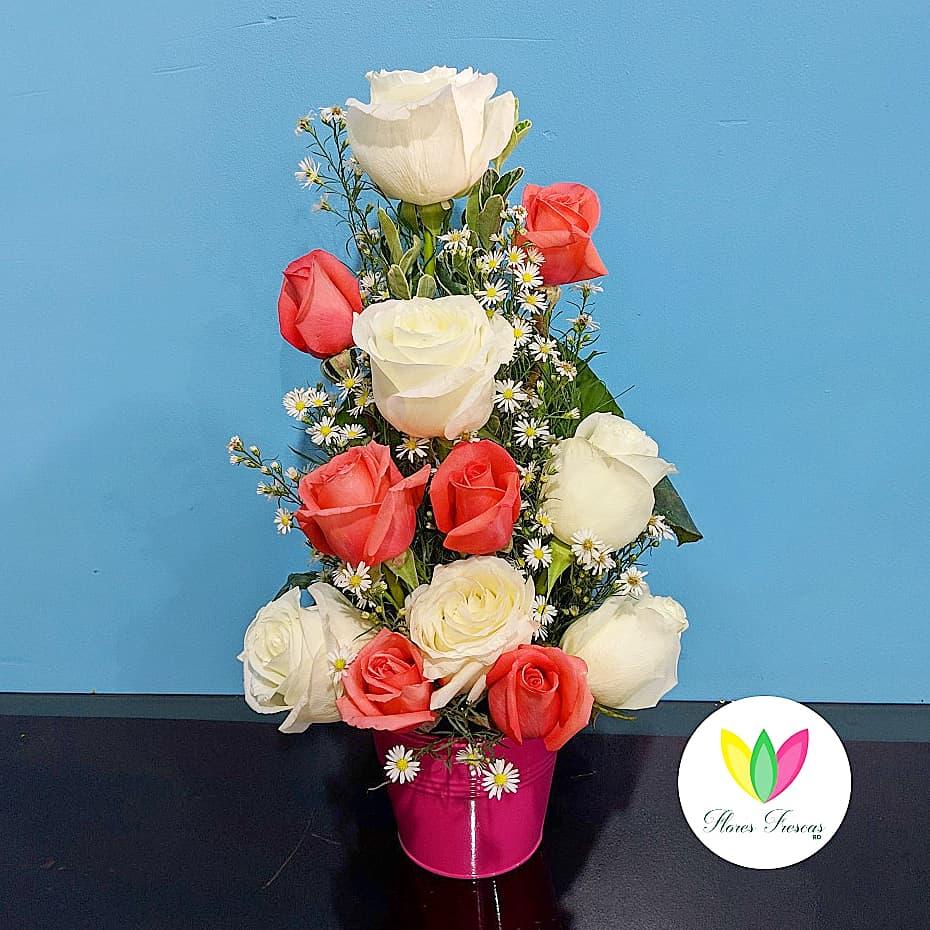 Detalle Floral Simple Flores Frescas República Dominicana